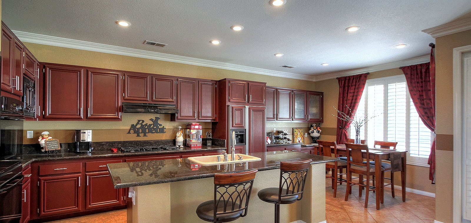 THE HENSLEY GROUP REAL ESTATE - spacious dining area and kitchen