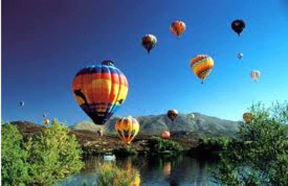 The Hensley Group | Beautiful Hot Air Balloons